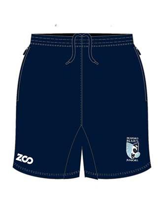 Shorts Leisure Blue Adult