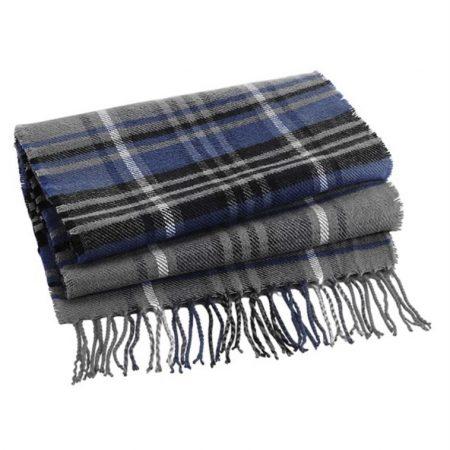 Classic check scarf BJB