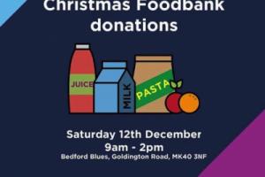 Xmas Foodbank Donations
